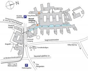kart rikshospitalet Kunst ved Rikshospitalet   hf/ifikk/kun1000 kart rikshospitalet